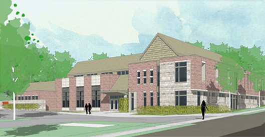 Architectural Drawing of Proposed YWCA site serving single homeless women