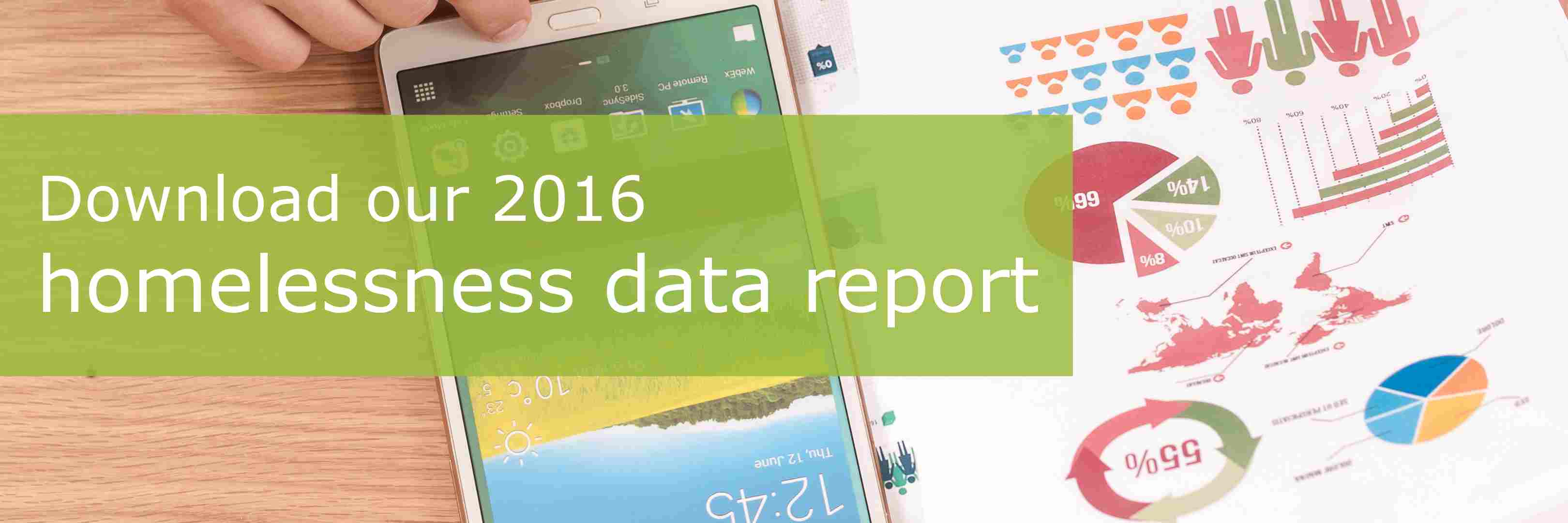 Click to download our 2016 homelessness data report.