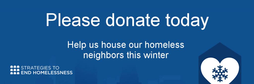 End Homelessness in Cincinnati